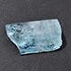 Espirito Santo aquamarine rough cut stone.