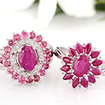 John Saul ruby rings for women.