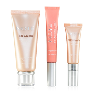 NOTE Natural Beauty Set-BB Concealer, Lip Corrector, and BB Cream