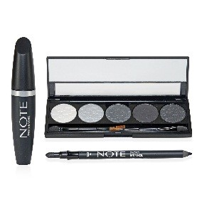 NOTE All Eyes On You Set - Eyeshadow, Mascara, and Eye Pencil