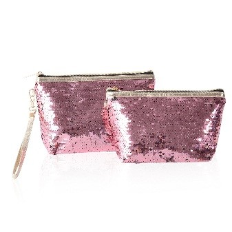 Sequin Pouches with Wristlet