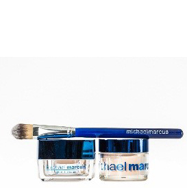 Michael Marcus 2 pc HD Powder and Prime with Brush