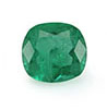 Green emerald May birthstone.