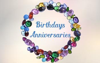 Birthstones Anniversary