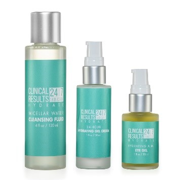 Clinical Results 24.7 Hydrate 3-Piece