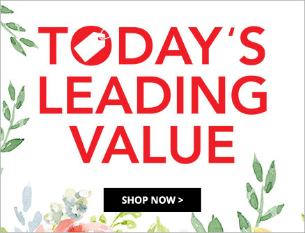 Today's leading value at Shop LC.